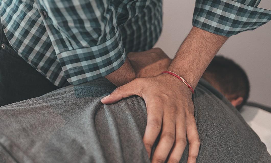 Pain Free Chiropractor Back Adjustment